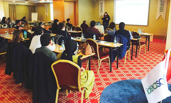 IdeaSoft Bayileri ile İzmir Mövenpick Otel'de buluştu.
