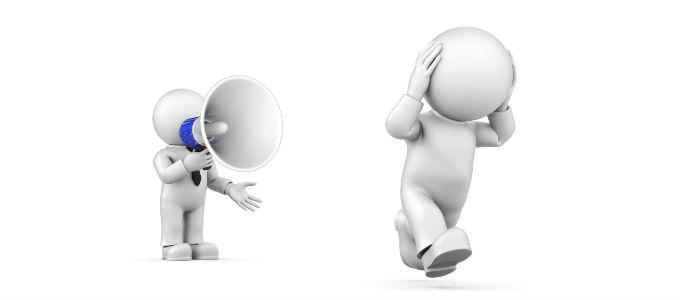 Pazarlama sürecinde iletişimi olumsuz etkileyen kritik ifadeler
