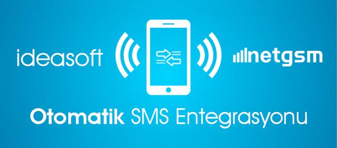 IdeaSoft ve Netgsm iş birliği – Otomatik SMS Entegrasyonu