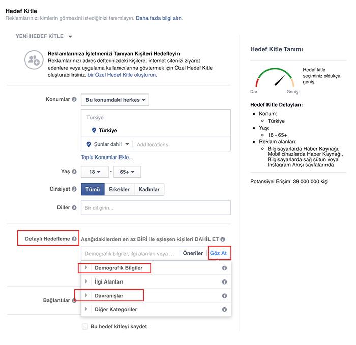 facebook-hedefleme
