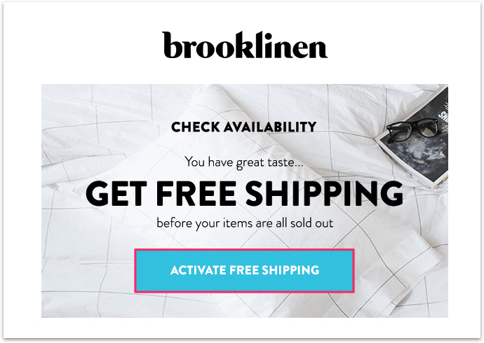 Brooklinen-Engagement-Email